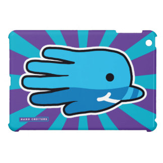 Swimming Blue Baby Narwhal Whale Cover For The iPad Mini