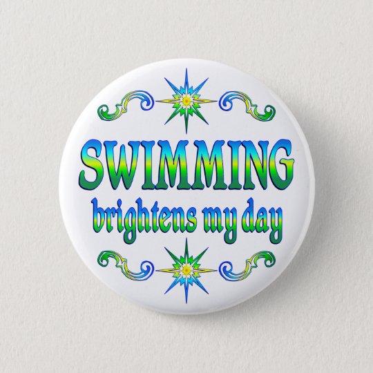 Swimming Brightens Button