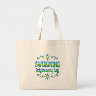 Swimming Brightens Canvas Bag
