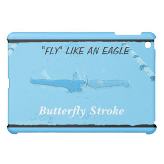 SWIMMING -BUTTERFLY IPAD COVER