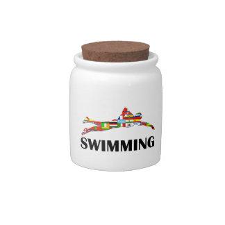 Swimming Candy Dish