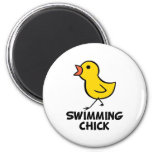Swimming Chick Magnet