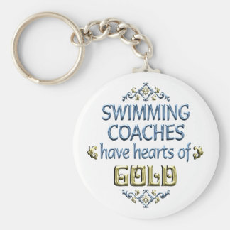 Swimming Coach Appreciation Key Chains
