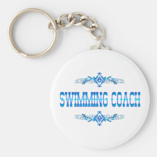 SWIMMING COACH KEYCHAIN