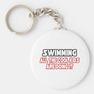 Swimming...Cool Kids Keychain