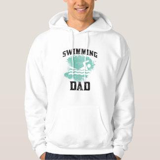 Swimming Dad Hoodie