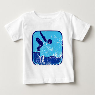 Swimming_dd_used.png Baby T-Shirt