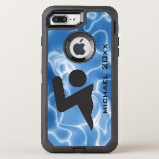 Swimming Design Otter Box OtterBox Defender iPhone 8 Plus/7 Plus Case