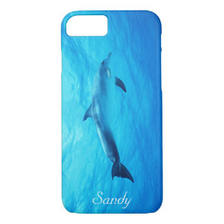 Swimming Dolphin iPhone 8/7 Case