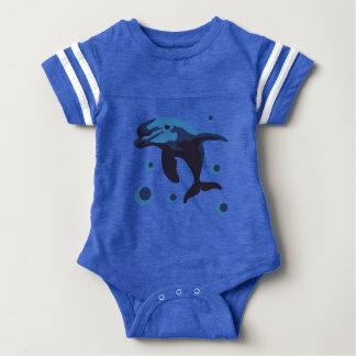 swimming dolphin shirt