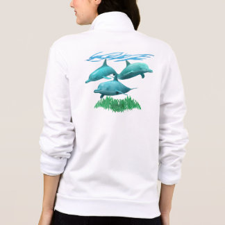 Swimming Dolphins Jacket