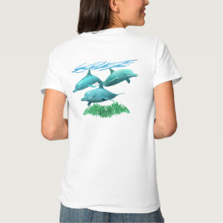 Swimming Dolphins Tee Shirt