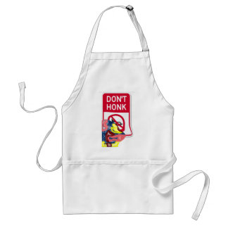 Swimming Don't Honk Adult Apron