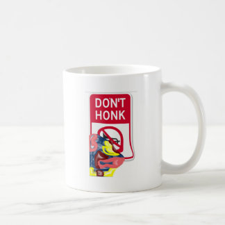 Swimming Don't Honk Coffee Mug