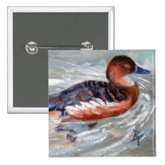 Swimming Duck Button