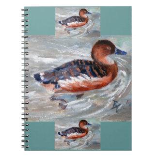 Swimming Duck Notebook
