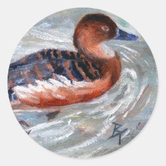 Swimming Duck Sticker