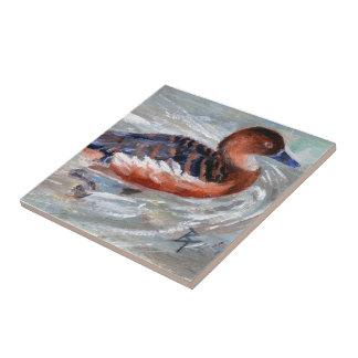 Swimming Duck Tile
