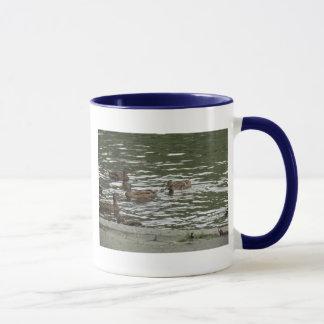 Swimming Ducks Mug
