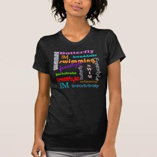 Swimming Everywhere Dark T-Shirt