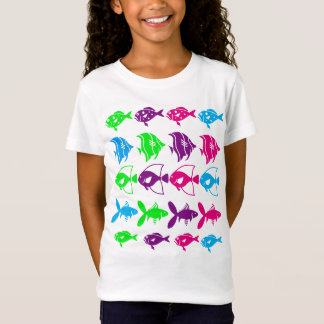 Swimming Fish Design T-Shirt