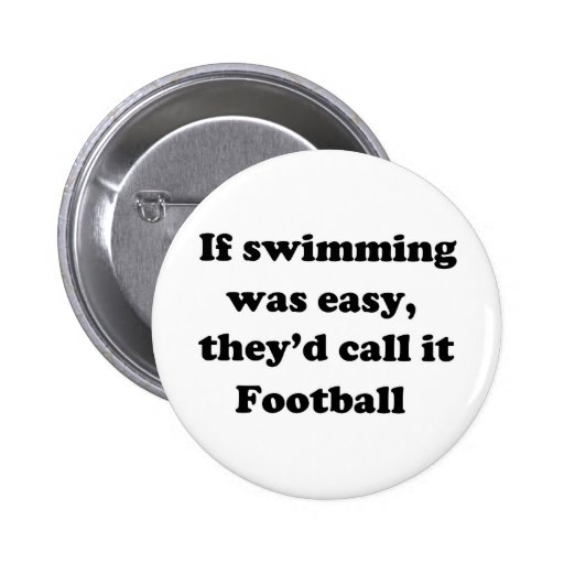 Swimming Football Button
