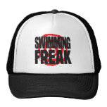 Swimming Freak Trucker Hats