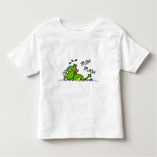Swimming Froggie Boy Toddler T-Shirt
