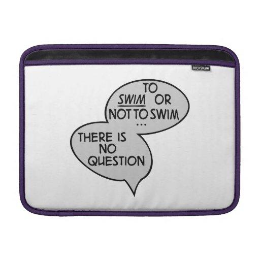 swimming fundas macbook air