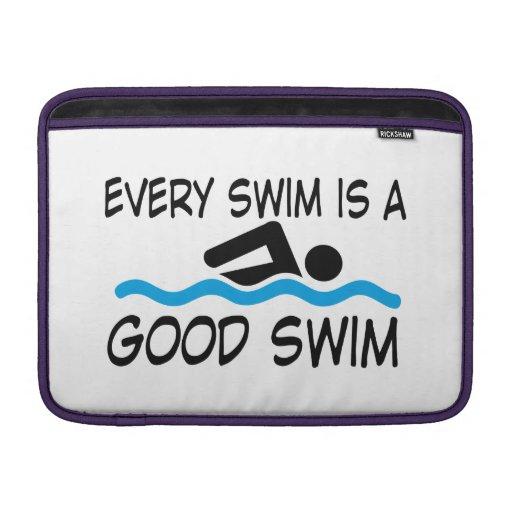 swimming funda macbook air