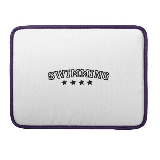 swimming funda para macbooks