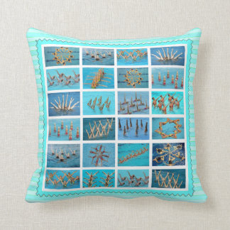 swimming gifts throw pillow