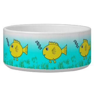 Swimming Goldfish Bowl