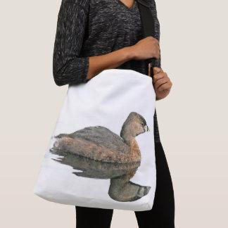 Swimming Grebe Bird Wildlife Animal Tote Bag