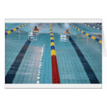 swimming greeting cards