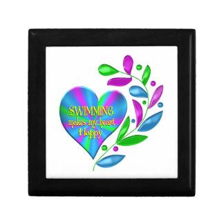 Swimming Happy Heart Jewelry Box