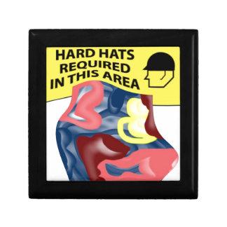 Swimming Hard Hats Jewelry Box