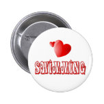 Swimming Hearts Buttons