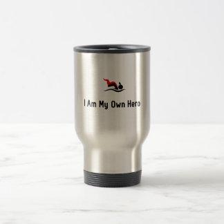 Swimming Hero Travel Mug