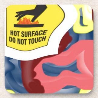 Swimming Hot Surface Coaster