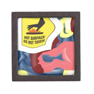 Swimming Hot Surface Keepsake Box