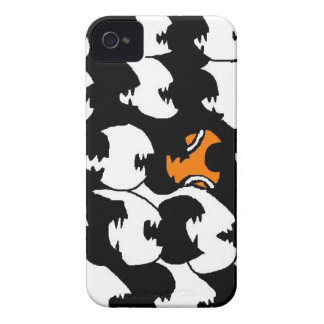 swimming in a sea of black Case-Mate iPhone 4 cases