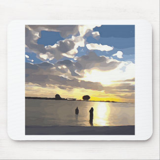 Swimming in Clearwater Mouse Pad