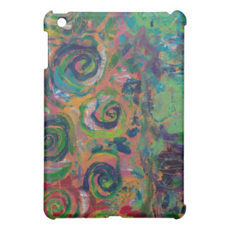 Swimming in Swirls ABSTRACT ACRYLIC Cover For The iPad Mini