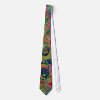 Swimming in Swirls Tie