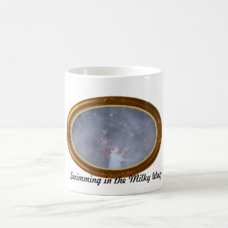 Swimming in the Milky Way Classic White Coffee Mug