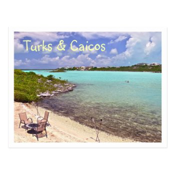 """swimming In Turks & Caicos"" Postcard by whatawonderfulworld at Zazzle"