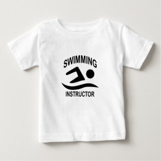 Swimming Instructor T Shirt.png Baby T-Shirt