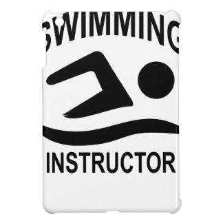Swimming Instructor T Shirt.png iPad Mini Cover