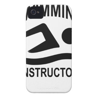 Swimming Instructor T Shirt.png iPhone 4 Case